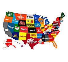 The Corporate States of America Photographic Print