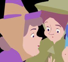 Fairy Godmothers Muted Sticker