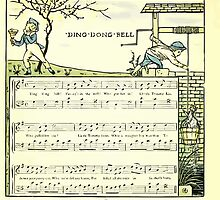 The Baby's Opera - A Book of Old Rhymes With New Dresses - by Walter Crane - 1900-24 Ding Dong Dell by wetdryvac