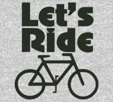Let's ride a bike One Piece - Short Sleeve