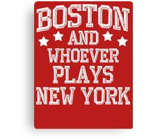 Boston #1 Canvas Print