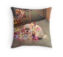 Dog  In Full Light Throw Pillow