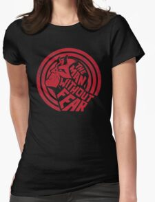 The Man Without Fear Womens Fitted T-Shirt