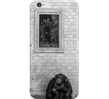 Chimp At Rest iPhone Case/Skin