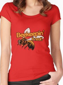 Beekeeper humor Women's Fitted Scoop T-Shirt