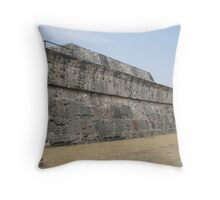 Pyramid of Quetzalcoatl, Xochicalco, Morelos, Mexico Throw Pillow