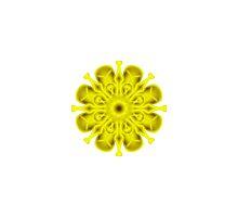 """Spirit of India: Fleur-Sun - Flower"" in golden yellow by FireFairy"