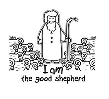 JOHN 10:14 THE GOOD SHEPHERD Photographic Print