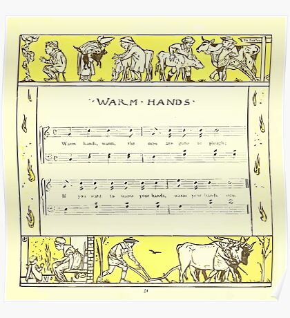 The Baby's Opera - A Book of Old Rhymes With New Dresses - by Walter Crane - 1900-55 Warm Hands Poster
