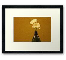 Floral Setting Framed Print