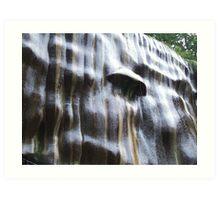 Slimey Rocks Art Print