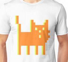 pixel cat massive orange! Unisex T-Shirt