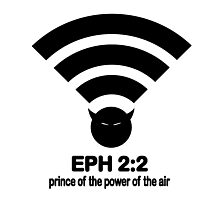 PRINCE OF THE POWER OF THE AIR Photographic Print