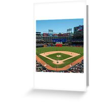 Texas Home of Baseball Fever Greeting Card