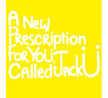 A New Prescription For Yoü, Called Jack Ü Photographic Print