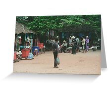 Vendors Angkor Temples Greeting Card