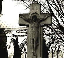 christ in the midle of town by StuartBoyd