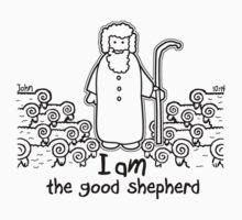 JOHN 10:14 THE GOOD SHEPHERD One Piece - Short Sleeve