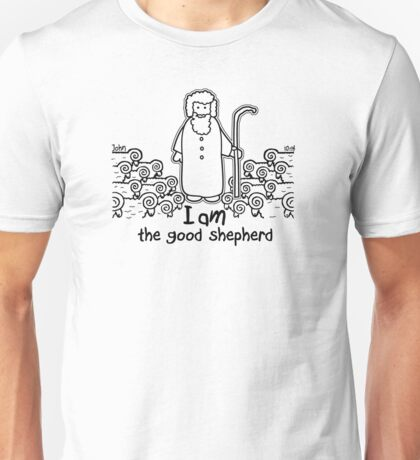 JOHN 10:14 THE GOOD SHEPHERD Unisex T-Shirt