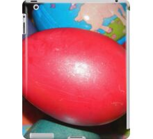 Red Easter Egg iPad Case/Skin