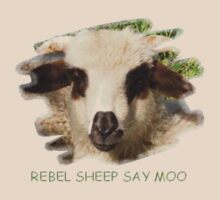 Rebel Sheep Say Moo  by taiche