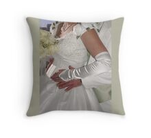 On Your Wedding Day Throw Pillow