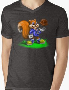 A Squirrel's Comeback Mens V-Neck T-Shirt