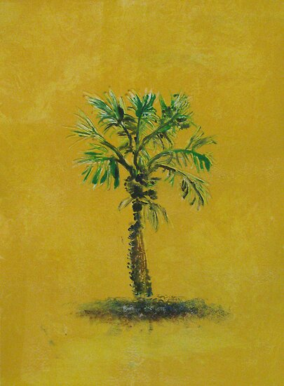 Palm by Linda  Hussey