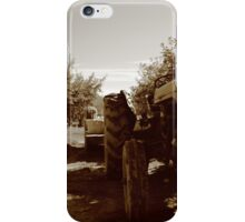 Apple Tractor iPhone Case/Skin