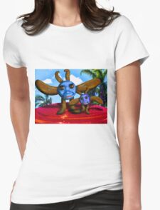 The Reflector Babes Womens Fitted T-Shirt