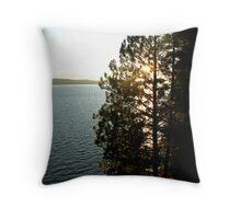 Lake Almanor, California Throw Pillow