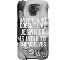 Jennifer Lawrence Samsung Galaxy Case/Skin