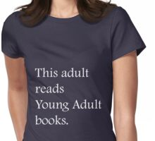 Read Young Adult Books - Fundraiser Womens Fitted T-Shirt