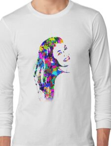 Flower Girl Long Sleeve T-Shirt