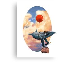 The Traveling Whalesman Canvas Print
