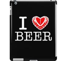 I Heart Beer iPad Case/Skin