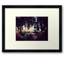 Door in the Forest Framed Print