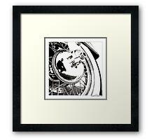 """""""Axis of Biker II"""" Framed Print"""