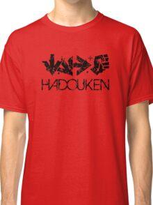 Hadouken Command Black Classic T-Shirt