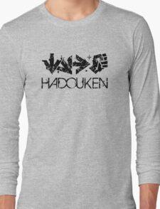 Hadouken Command Black Long Sleeve T-Shirt