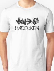 Hadouken Command Black Unisex T-Shirt