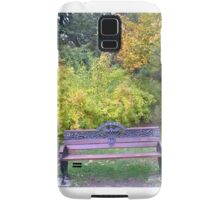 Lonely bench Samsung Galaxy Case/Skin