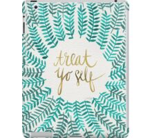 Treat Yo Self – Turquoise iPad Case/Skin