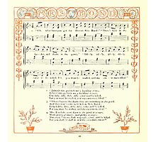 The Baby's Opera - A Book of Old Rhymes With New Dresses - by Walter Crane - 1900-32 Mrs. Bond Photographic Print