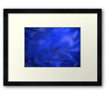 A Study on Pre-Post-Modernism in Azure Framed Print