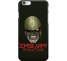 Zombie Army Productions Logo iPhone Case/Skin