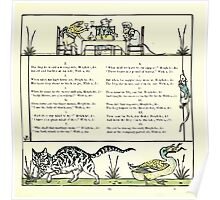 The Baby's Opera - A Book of Old Rhymes With New Dresses - by Walter Crane - 1900-29 Ye Frog's Wooing P2 Poster