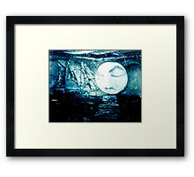 Ghost Ship of the Dutchman Framed Print