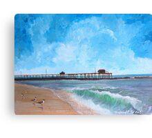 New Jersey Beach Canvas Print