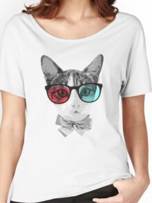 Tabby Cat Women's Relaxed Fit T-Shirt